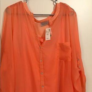 Ladies plus size blouse.